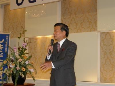 わが師匠・鈴木恒夫衆議院議員のごあいさつ